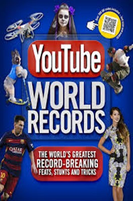YouTube World Records Book Cover