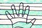 3D Hand by Oisín B. (5th)