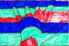 Colourful Hand by Jamie (5th)