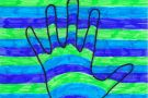 Multi-Coloured Hand by Gerard (5th)