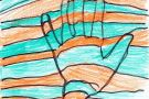 The Colourful Hand by Sarah (5th)