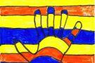 The Colourful Hand by Seán S. (5th)