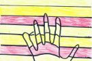 The Multi-Coloured Hand by Louise (5th)