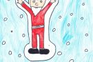Santa Claus by Katie(6th)