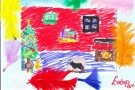Christmas Art by Evelyn (6th)