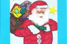 Christmas Art by Jessica (6th)