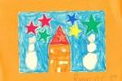 Christmas Art by Ruairi O'C. (5th)