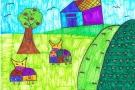 The Farm Scene by Saoirse (6th)