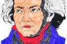 Beethoven coloured by Éabha (5th)