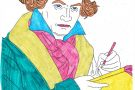 Beethoven coloured by Ciara (6th)