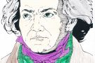 Beethoven coloured by Edel (5th)