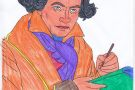 Beethoven coloured by James (5th)