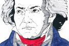 Beethoven coloured by Jessica (5th)