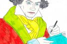 Beethoven coloured by Lana (5th)