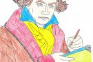 Beethoven coloured by Louise (5th)