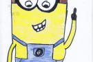 Stuart the Minion by Éabha (5th)