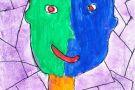 Self Portrait by Macdara (5th)