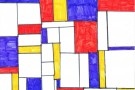 Peter Mondrian by Lisa (5th)