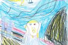 The Scream by Aoife (5th)