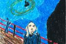 The Scream by Laura (6th)