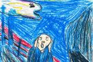 The Scream by Lisa (6th)
