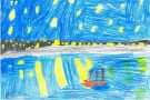 Starry Night Over The Rhone by Katy (5th)