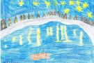 Starry Night Over The Rhone by Megan (5th)